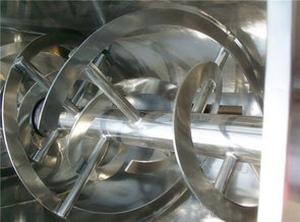 卧式螺带混合机